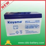 bateria acidificada ao chumbo para a iluminação Emergency, UPS do AGM de 12V 7ah, protetor de impulso