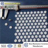Carreau de céramique d'alumine résistante à l'usure de feuille de tuile de Hexaongal (taille : 300*300 millimètre 150X150 millimètre)