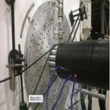 Wundrohr-Extruder-Entwässerung-Rohr-Strangpresßling-Zeile
