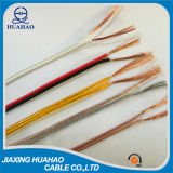 2X1.0mm2; 2X1.5mm2; 2X2.0mm2; 2X2.5mm2; Gêmeo paralelo Flat Wire Cable / Speaker