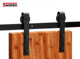 Zeitgenössische Art, die Stall-Tür-Befestigungsteil-Rolle u. Befestigungen für Stall-Tür schiebt