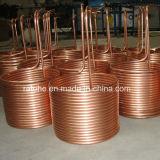 工場は冷却装置コンデンサーの銅管を作った