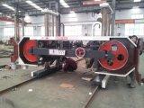 Mj3710 Réglage de l'épaisseur de coupe de l'écran tactile Scie horizontale pour le bois