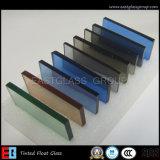 4mm 5mm 5.5mm 6mm 8mmの10mm染められたフロートガラス