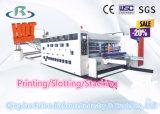 Alta velocidad de impresión flexográfica que ranura la máquina troqueladora