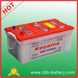 HochleistungsTruck Dry Charged Automotive Battery Battery N200 200ah 12V
