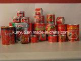 缶詰にされたトマトのり