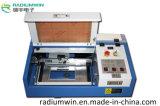 小型レーザーのヒスイの機械を作る水晶彫版機械3020レーザーのスタンプ