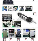 30W 40W 50W 60W 고성능 옥외 IP65 LED 태양 가로등 시스템