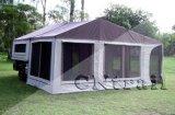مقطورة خيمة