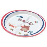 """Del """" placa del almuerzo de la melamina de Seires oso de Francia """" de la melamina (FB13204)"""