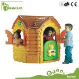 Maisons de théâtre en plastique bon marché en gros enfants extérieurs/d'intérieur de cour de jeu pour des gosses
