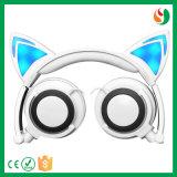 中国の方法かわいいデザインによってワイヤーで縛られるステレオの華やかな猫のヘッドホーン