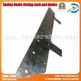 Lámina de corte del acero de herramienta para la industria de trabajo de papel o de madera