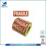 El papel adhesivo de la alta calidad etiqueta etiquetas engomadas