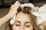 Toalhas descartáveis do salão de beleza do cabelo dos TERMAS