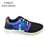De kleurrijke Schoenen van de Sport ontwerpen de Unisex- Lage Prijs van pvc Injecdtion