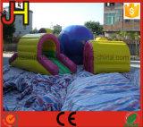 Lustiges aufblasbares Hindernis-Spiel für Kinder