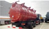 Caminhão do transporte da lama de água de esgoto M3 do caminhão de tanque 16 da lama de Dongfeng 6X4