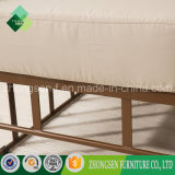 거실에 사용되는 고품질 실내 장식품 소파 금속 안락 의자