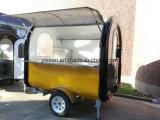 2017 carros móviles de la venta de la calle de la venta caliente