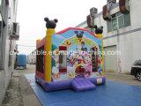 Mickey Mouse gonfiabile che salta castello