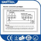 Regulador de temperatura del microordenador de Digitaces LCD