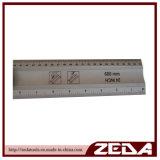 De plastic Rechte Rand van de Heerser van het Aluminium van de Manager Multifunctionele met 2 Flesjes 152