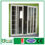 Puerta enrasada de aluminio estándar australiana de Pnoc080202ls con diseño de la puerta del tocador