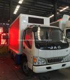 トラック4X2 P6 P8多彩なスクリーン表示手段を広告するJAC LED
