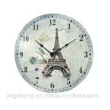 Handmade имитационные античные исламские часы часов стены деревянные