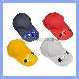 58cm Baseball Hat Cap com Solar Powered Cooling Fan