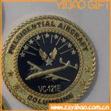 Preiswerte kundenspezifische Decklack-Münze für Andenken-Geschenke (YB-Co-04)
