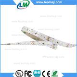 3014 indicatore luminoso di striscia flessibile giallo di 60LED 14.4W LED