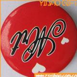 Tecla barata personalizada bonito do Tinplate da impressão do logotipo para a venda (YB-BT-04)