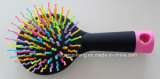 Hairbrush cosmetico Mini Personalized Hair Brush con Color Pins