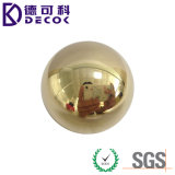 Depresión de la buena calidad de la alta precisión y bola de cobre amarillo sólida C28000