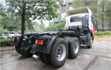 Carro del alimentador de Isuzu 6X4 con el motor del HP 350