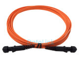 Cuerda de corrección de fibra óptica de MTRJ
