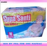 Couches-culottes remplaçables de bébé de Supa Santi avec la bande magique