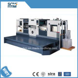 Máquina cortando inteiramente automática do papel fino com descascamento