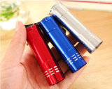 Taschenlampe 9 der nach Maß Mehrfarbender batterie-3*AAA Handmini-LED Ledmini 9 LED Taschenlampe UV