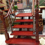 普及した方法標準的なステンレス鋼の純木のステアケース