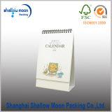 Calendrier de papier de vente en gros de stand de femme de Changhaï (QY150305)