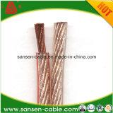 Fil électrique de PVC de conducteur de cuivre multi de Rvb de câble d'orateur
