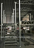 Construcción prefabricada de la escalera de la estructura de acero de la instalación rápida y fácil