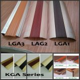 Ongle-Hidden Aluminum Certic, Carpet, 8~12mm Flooring Accessories de LGA Series Rubber Inlay