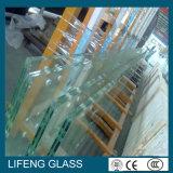 Coloré glace en verre/teintée/verre trempé/glace Tempered avec le bord de Belved de trous