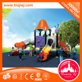 Residential Kid Tree Outdoor Playground Slide with Climbing Frame