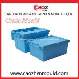 Пластичные складные кантуют прессформу коробки с крышкой